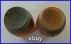 2 mini vases en pâte de verre PEYNAUD