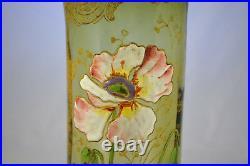 Ancien Vase Emaille Legras 2