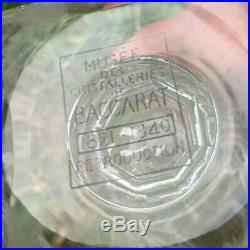 Baccarat Laetitia Vase Cristal Taillé Empire Restauration 19éme 19 Xixéme 849