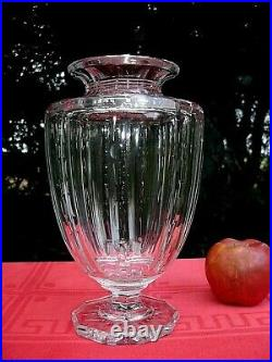 Baccarat Vase Cristal Taillé Empire Restauration 19éme 19 Éme Xixéme XIX Éme 853