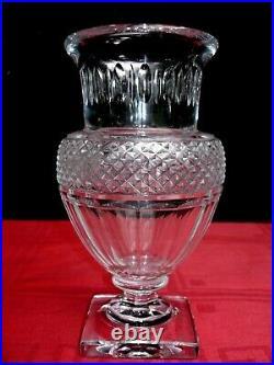 Baccarat Vase Laetitia Cristal Taillé Empire Restauration 19éme 19 Éme Xixém 849