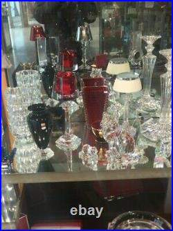 Baccarat grand vase rectangulaire modele EYE
