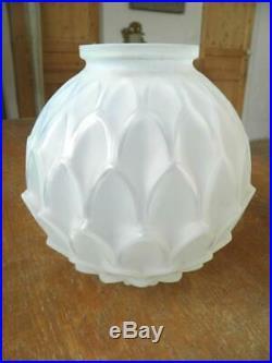 D'avesn Vase Opalescent Art Déco Hunebelle Sabino Verlys (407)