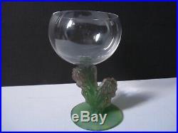 Daum Nancy France Verre en pâte de verre et cristal, Cactus par Mc Connico