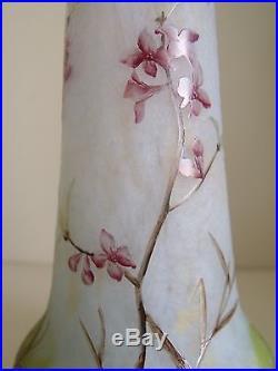Daum Nancy vase Art Nouveau Jugendstil 1900