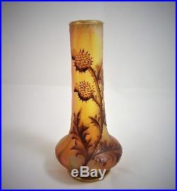 Daum Vase Art Nouveau 1880/1900 Réf/A23/36