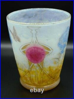 Daum Vase Hydrangeas Cabochons