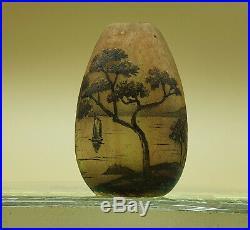 Daum nancy miniature 19 eme hauteur 5 cm
