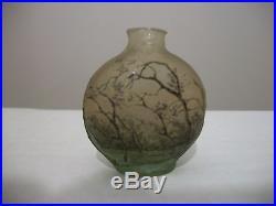 Daum vase miniature splendide