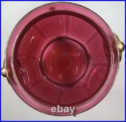 EXCEPTIONNEL cache-pot Cristal dégagé Acide NAPOLEON III Baccarat