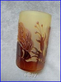 Émile Gallé petit vase Art Nouveau