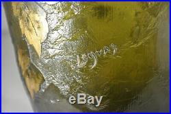 Exceptionnel Vase Signe Legras Pate Verre Art Nouveau Antique Signed Cameo Glass