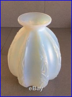 Exceptionnel gros vase art-deco par Sabino, era daum galle lalique