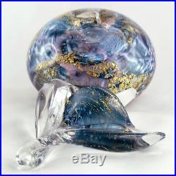 FLACON Ancien JP. CINQUILLI, VERRERIE DE SAINT PAUL biot/monod/novaro/glass 80