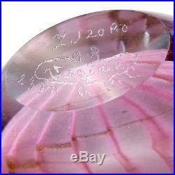 FLACON Verrerie MICHELE LUZORO à BIOT Glass perfume bottle/novaro/verre design