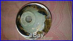 Flacon de parfum par Jean Claude NOVARO maitre verrier à Biot en 1998 de 3,8 Kg