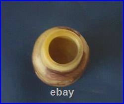 Gallé, joli vase à décor floral