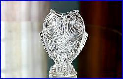 Gallé, pour Baccarat vase aux Poissons Siamois, carpe Koï, en cristal (éclat)
