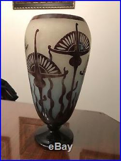 Grand Vase Le Verre Francais