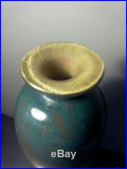 Grand Vase pâte de verre Charles Schneider, Art Déco 1918-21