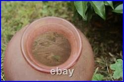 Grand et authentique vase signé LEGRAS (41 cm de hauteur)