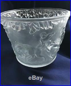 Grand vase muller (daum gallé lalique)