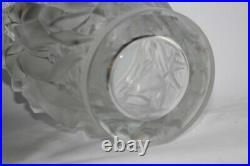 LALIQUE Grand vase Bacchantes cristal incolore (48678)