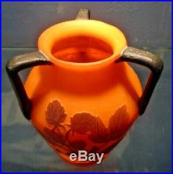 LOETZ-RICHARD vase art nouveau pate de verre-daum, gallé-schneider, muller, argy
