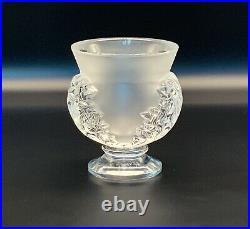 Lalique Vase Saint Cloud