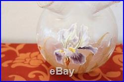 Legras Mont Joye vase en verre artistique de la collection Art Nouveau