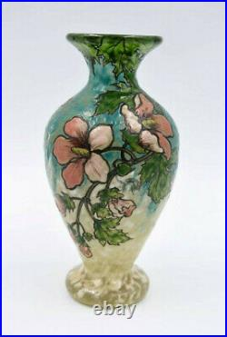 Legras Vase De La Série Émeraude