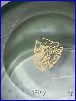 Magnifique Vase Montjoye Pate De Verre Art Nouveau