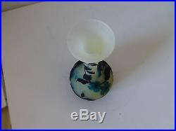 Magnifique vase en pate de verre muller art nouveau