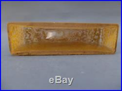 Nil Daum Nancy Jardiniere Verre Emaille 1900 Art Nouveau Cristal Vase Legras