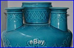 Paire De Vases Genre Théodore Deck Pair Of Tulip-vases Oriental Circa 1880