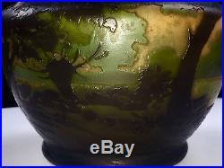 Rare Vase Muller Nancy Pate De Verre Art Deco (galle Daum)