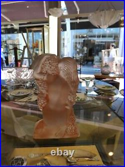 RENE LALIQUE (1860-1945), Statuettes Automne du Surtout quatre saisons