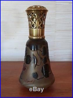 Rare et belle lampe BERGER par PAUL NICOLAS (D'ARGENTAL) art nouveau