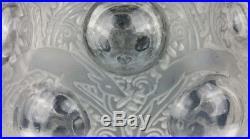 René LALIQUE Vase boule modèle ANTILOPES créé en 1925