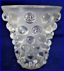 Rene Lalique BAMAKO vase rèf / A23/16