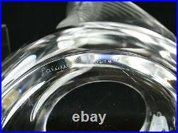 Sublime Vase Cristal Lalique Modele Adelaide Superbe Etat