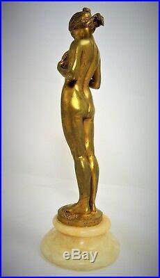 Superbe bronze de Antoine Bofill la comparaison rèf/A/24/22