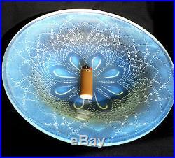 Très jolie coupe opalescente ETLING, era sabino verlys lalique daum vase