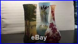 Trois vases legras