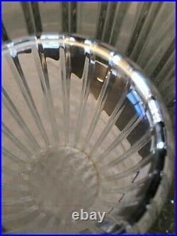 VASE CRISTAL TAILLE DE BACCARAT MODELE HARMONIE 30 cm. Jeff Koons Crystal Set