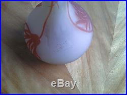 Vase Soliflore D Emile Galle