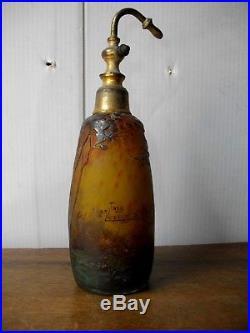 Vaporisateur pate de verre muller frère lunéville