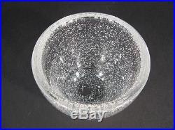 Vase Ancien En Cristal De Daum / Vase En Cristal Bullé Daum Nancy France