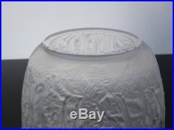 Vase Biches en cristal Lalique France