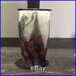 Vase Danseuses Tenant Une Longue Robe Gabriel Argy-Rousseau Woman Dress